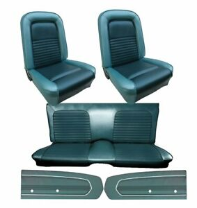 1967 Mustang Fastback Seat Cover Upholstery Door Panel Set Any Color Di