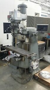 Bridgeport Series 1 Milling Machine With Digital Readout Great Condition