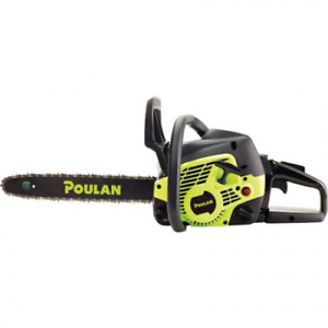 Poulan 14 Steel Bar 33cc Gas Chainsaw 2 Cycle Pl3314 Factory Reconditioned