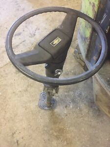 81 87 Chevy Chevrolet Truck Steering Column Steering Wheel No Key Square Body