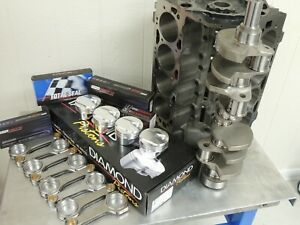 Bbc 496 Chevy Forged 4340 W Diamond Pistons Balanced Block Assy 1pc Rms