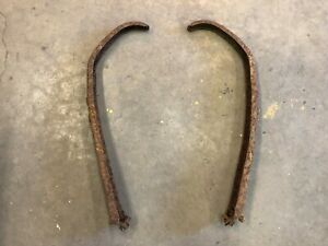 Original Ford Model A Car Truck Front Fender Bracket Brace Pair Left And Right