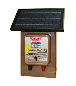 Parmak Mag12sp Magnum Solar Fence Charger