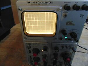 Vintage Tektronix 561b Oscilloscope With Type 3a6 Diff Amp Type 3b3 Time Base