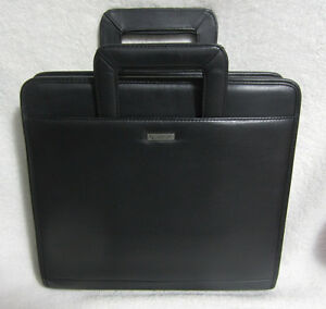 Franklin Covey Large Binder Organizer Planner With Handles 3 Ring 12 x13 Euc