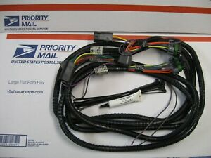 Western Fisher Plow New 4 Port Headlight Harnesses 28242 28244 For H13 Headlamp