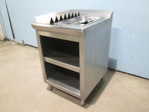 H d Commercial 100 S s 24 w Fried Food Dump holding Station W accessories