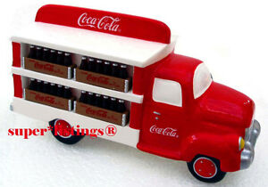 Dept. 56 Coca-Cola Brand Delivery Truck Retired 1998 Snow Village 54798 New