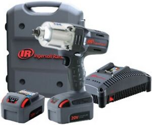 1 2 Cordless Impact Wrench Standard Anvil Two Battery Kit Irc W7150 K2 New
