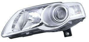 Headlight Assembly Front Left Hella 247014051 Fits 06 10 Vw Passat