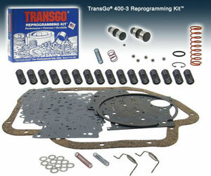 Transgo Thm400 Th400 400 3l80 Reprogramming Shift Kit Sk400 3