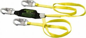 8798 6ftyl Miller Safety Harness Lanyard With Sofstop Shock Absorber