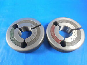 781 32 Ns Thread Ring Gages 0 781 Go No Go P d s 7607 7578 Inspection