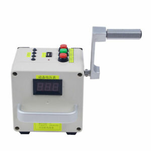 Small Hand cranked Generator Mobile Emergency Power Supply Charger 220v Ce 950g
