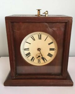 Unusual Antique Victorian Early 20th Century Scratch Built Project Timer Clock