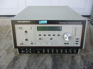 Eg g Instruments Potentiostat Galvanostat Model 283