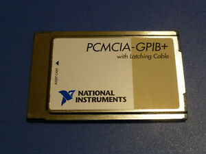 National Instruments Pcmcia gpib Controller Analyzer Card 187039c 01