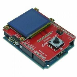 4d Systems 1 7 Oled Display Shield For Arduino