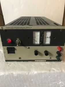 Kepco Jqe 25 10 M Ac To Dc Power Supply 0 25 Vdc 0 10a 0 10 Amp as Is