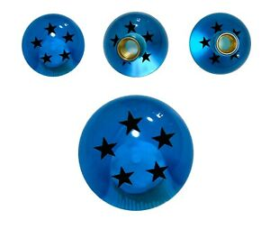 Blue 5 Star Dragon Ball Z Shift Knob 54mm For Toyota Scion Wrx Subaru M12x1 25