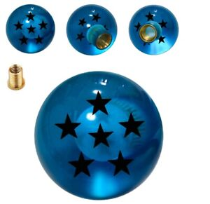 Blue 6 Star Dragon Ball Z Shift Knob For Mazda Mitsubishi Nissan M10x1 25