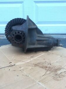 1956 Up Gm Positraction Rear End Differential 3707308 Gear Ratio 4 875