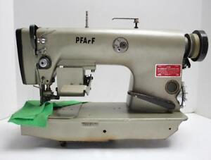 Pfaff 481 Needle Feed Edge Trimmer Reverse Industrial Sewing Machine Head Only
