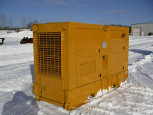1986 Cat 100kw Diesel Generator With Only 540 Hours