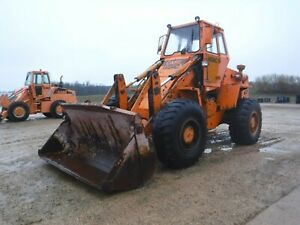 1985 Case Mw24c Wheel Loader With Only 7400 Hours