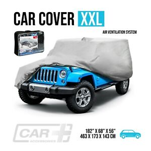 Car Cover Xxl Resist Waterproof Protection All Weather Air Ventilation System