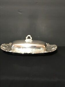 Towle Old Master 1 4 Pound Silverplate Butter Dish With Liner