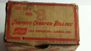 Vintage Lisle Jeepers Creeper Rollers Automotive Mechanics Creeper New No 8