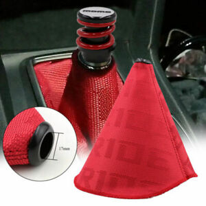 Bride Hyper Fabric Shift Knob Shifter Boot Cover Mt At Honda Accord Civic Acura