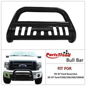1pc Bull Bar Grille Grill Guard For 2005 2007 Ford Excursion F250 F350 F450