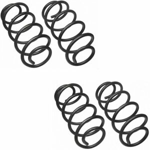 Moog Set Of 4 Coil Springs Front Rear New For Jeep Set Mc3228 C