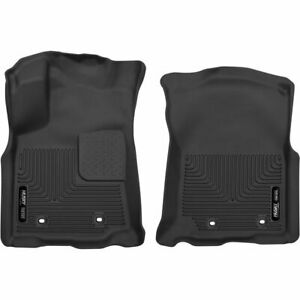 Husky Liners Floor Mats Front New Black For Toyota Tacoma 2018 53751