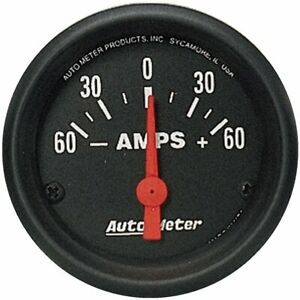 Autometer Ammeter New 2644