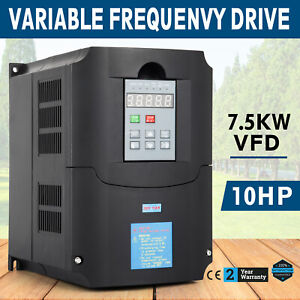 New 7 5kw 10hp 34a Updated Variable Frequency Drive Inverter Vfd