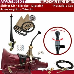 Fmx Shifter Kit 8 E Brake Cable Clevis Trim Kit Dipstick For D5a2a Tunnel Ram