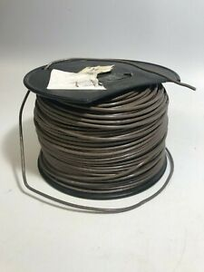Southwire 14 Awg Copper Machine Tool Wire Brown Stranded Thhn thwn 500ft Nos