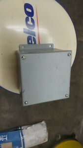 Weatherproof Junction Box Enclosure 6 X 6 X 4 Wiegmann Part B060604sc
