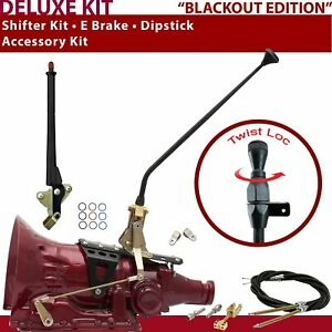 C4 Shifter Kit 16 E Brake Cable Clevis Dipstick For F70ca Tunnel Ram Ford