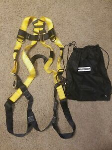 3d Ring 5 point Adjustment Safety Fall Protection Kit Full Body Harness