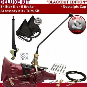 Fmx Shifter Kit 16 E Brake Cable Clamp Trim Kit For F249b Tunnel Ram Ford 383