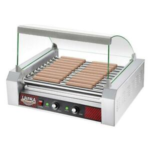 Great Northern Popcorn Commercial 30 Hot Dog 11 Roller Grilling Machine