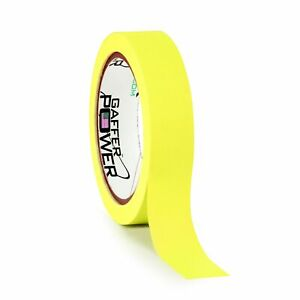 Fluorescent Yellow Console Tape 1 X 20 Yards