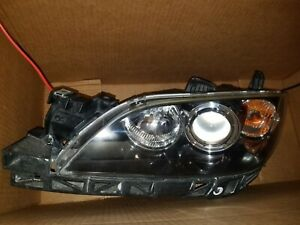 2004 To 2009 Mazda 3 Sedan Driver Left Hid Xenon Headlight Head Lamp