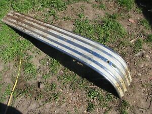 50 51 52 Pontiac Chieftain Silver Streak Hood Center Trim Molding Waterfall Oem