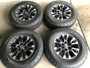 18 Nissan Titan Wheels And Tires Set 6x139 7mm