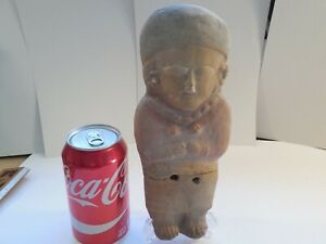 Big Bahia Ecuador Figure Pre Columbian Antiquity Ancient Artifact Manabi Mayan